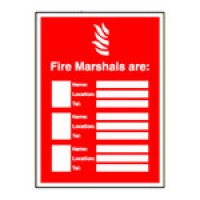 Fire Safety Updatesign Holders